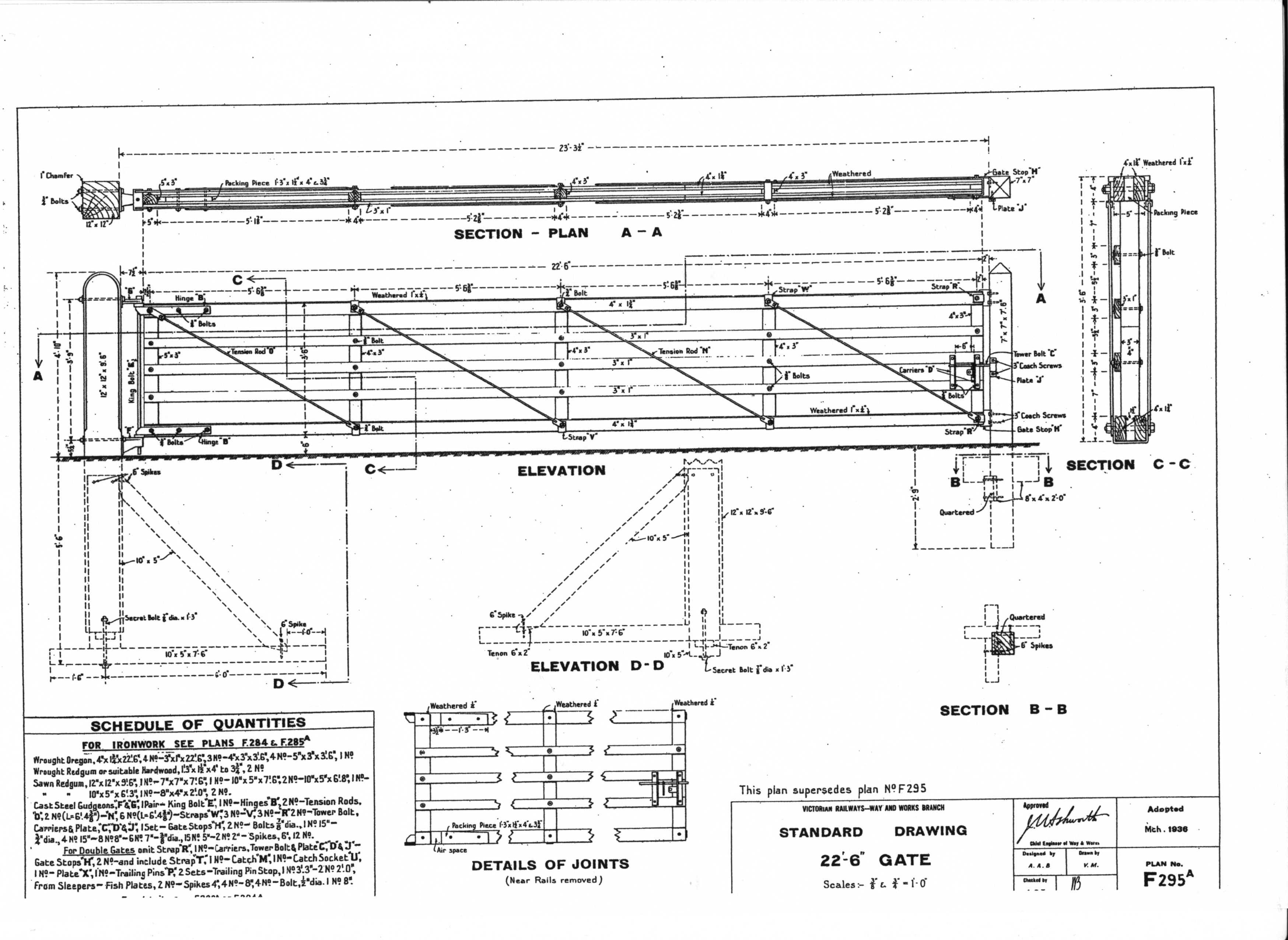 Infastructure Home Beam Bridge Diagram F 289 Bedplates For I Bridges 290 Timber Footbridge Details 291b Mould Concrete Tests 292b Pile Driving Plant 293a Markings